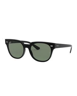 8e49ff95a Ray-Ban Men's Square Monochromatic Sunglasses