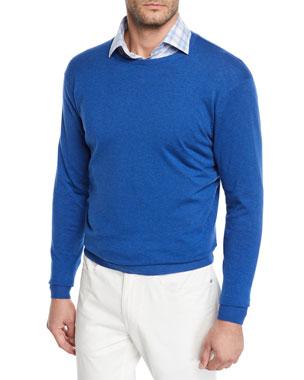3dfbede43ab2 Peter Millar Men's Crown Soft Crewneck Sweater