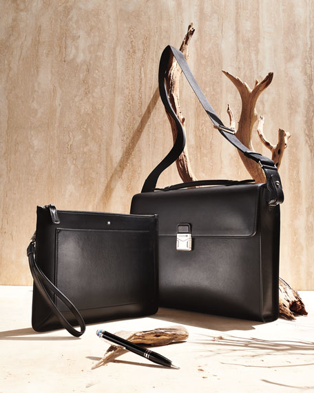 Montblanc Men's Meisterstuck Urban Clutch Bag