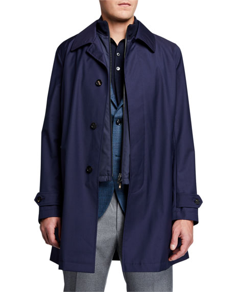 Ermenegildo Zegna Coats Men's Achill Farm 3-in-1 Coat