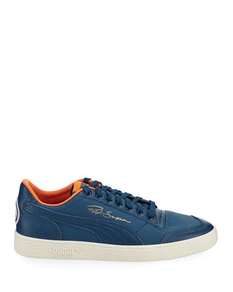 Puma Men's Ralph Sampson Lo Virginia Leather Low-Top Sneakers