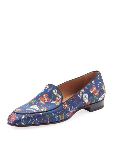 Christian Louboutin Men's Style on the Nile Formal Loafers