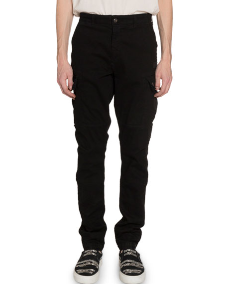 Amiri Men's Relaxed Stretch-Twill Cargo Pants