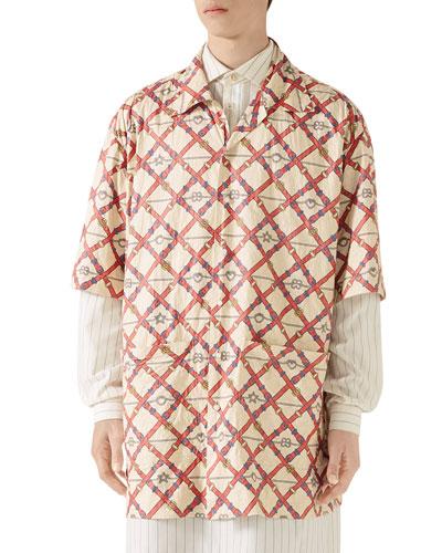 Men's Paperweight GG Shirt