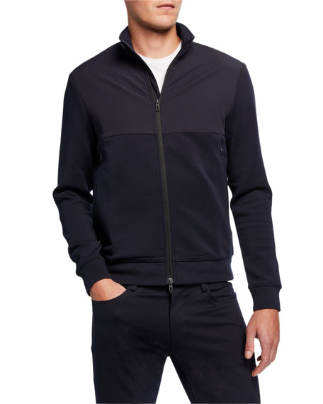 Image 2 of 3: Emporio Armani Men's Double Jersey Travel Capsule Jacket