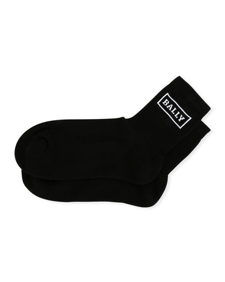 Bally Men's Logo-Pattern Tube Socks