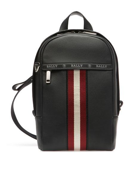 Bally Men's Trainspotting Leather Crossbody Backpack
