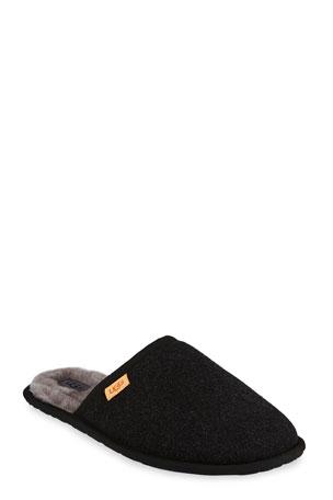 UGG Men's Scuff Wool Mule Slippers