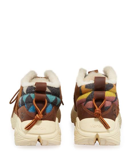 UGG Men's Miwo Mixed-Media Platform Sneakers