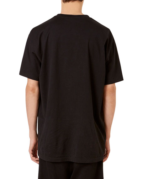 Image 2 of 2: Givenchy Men's Logo-Typographic Oversized-Fit T-Shirt
