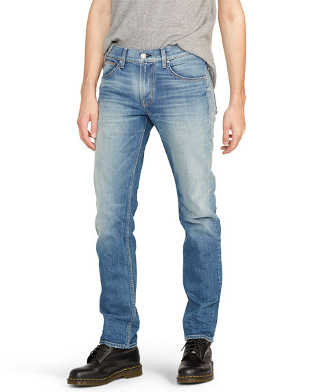 Hudson Men's Byron 5-Pocket Straight-Zip Jeans