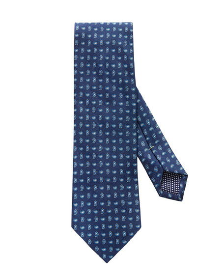 Eton Men's Silk Paisley Tie