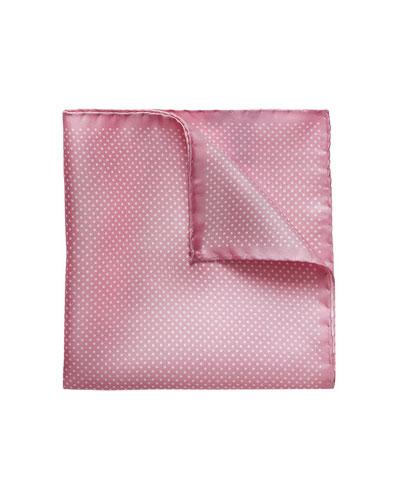 Men's Polka Dot Pocket Square