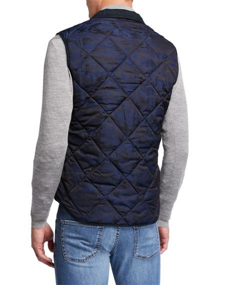 Neiman Marcus Men's Quilted Camo Vest