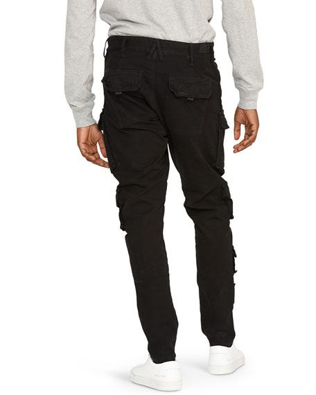 Hudson Men's Bowlegged Cargo Pants w/ Drawstring
