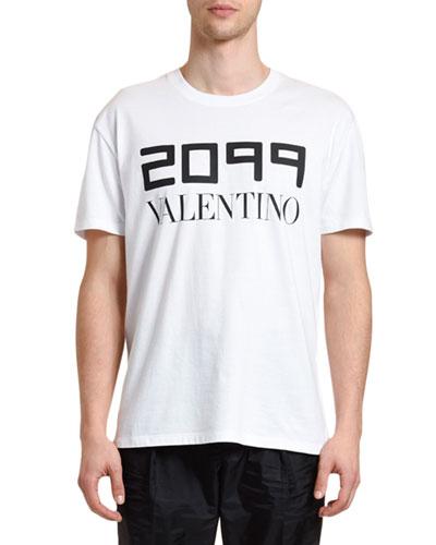Men's 2099 Logo Typographic T-Shirt