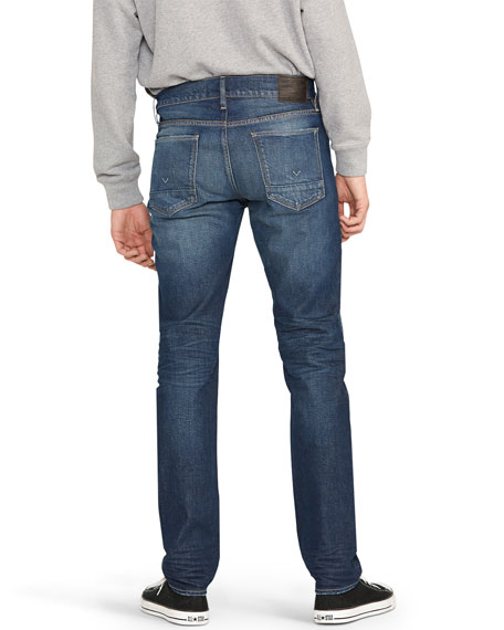 Hudson Men's Byron 5-Pocket Straight-Zip Jeans