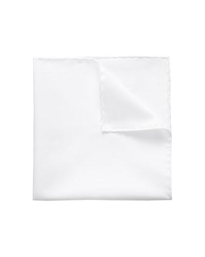 Men's Signature Twill Pocket Square