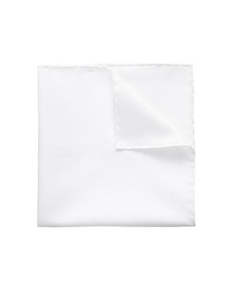 Eton Men's Signature Twill Pocket Square