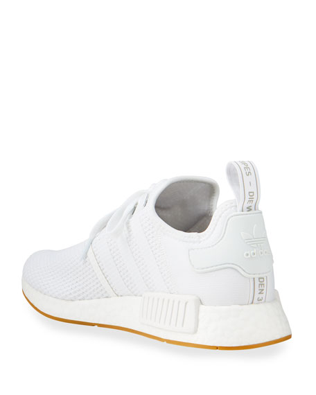 Adidas Men's NMD R1 Tonal Stretch-Knit Running Sneakers