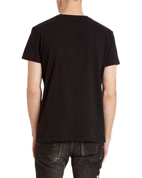 Balmain Men's Paris Logo T-Shirt