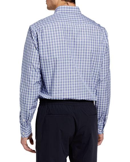 Ermenegildo Zegna Men's Medium Check Sport Shirt