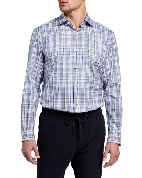 Ermenegildo Zegna Men's Plaid Sport Shirt