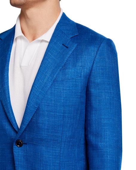 Ermenegildo Zegna Men's Textured Solid Two-Button Jacket