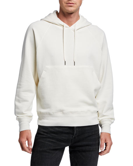 TOM FORD Men's Solid Pullover Hoodie