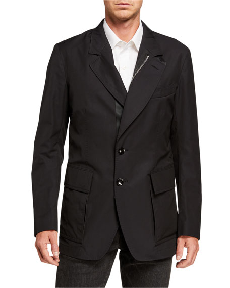 TOM FORD Men's Zip-Front Sportswear Jacket