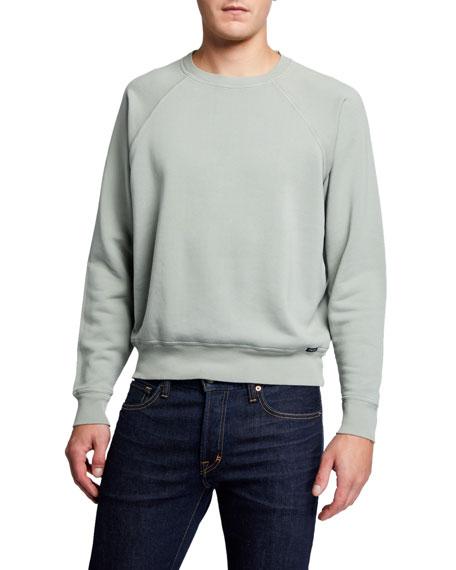 TOM FORD Men's Solid Jersey Sweatshirt
