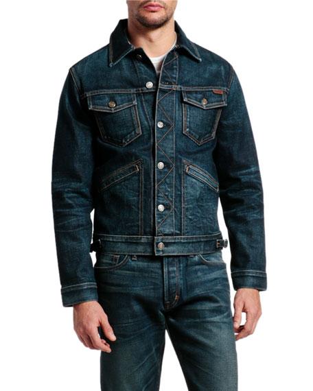 TOM FORD Men's Denim Jacket