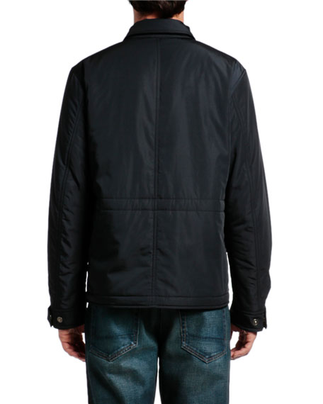 TOM FORD Men's Ovatta Patch-Pocket Jacket