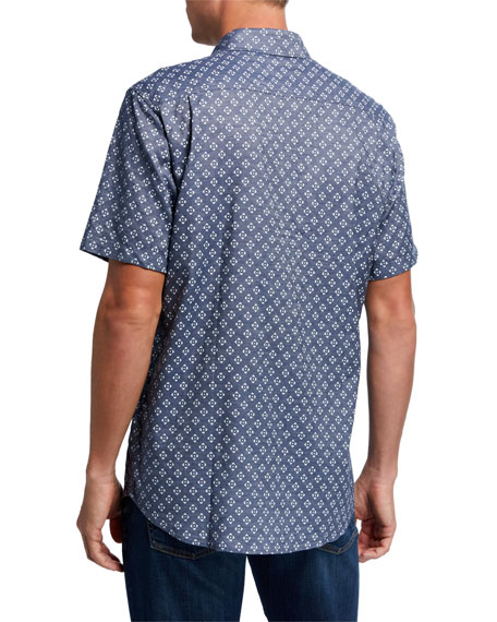 Faherty Men's Coast Short-Sleeve Sport Shirt