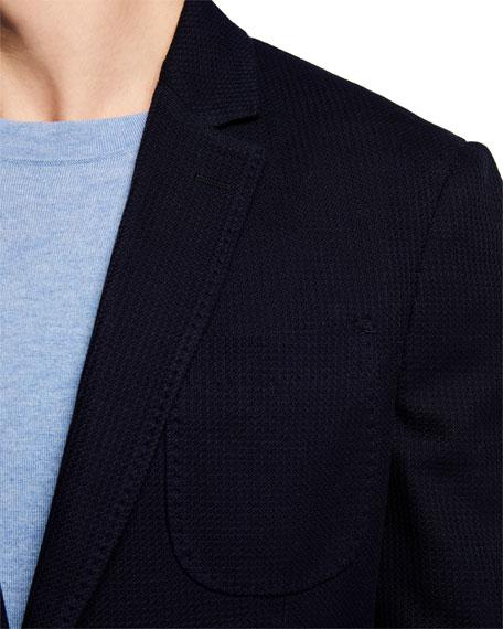 Salvatore Ferragamo Men's Textured Jersey Sport Jacket