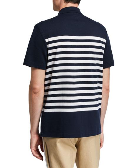 Michael Kors Men's Striped Short-Sleeve Sport Shirt