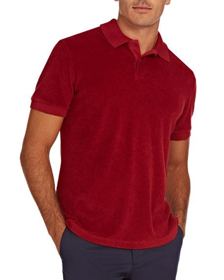 Orlebar Brown Men's Jarrett Terry Towel Polo Shirt