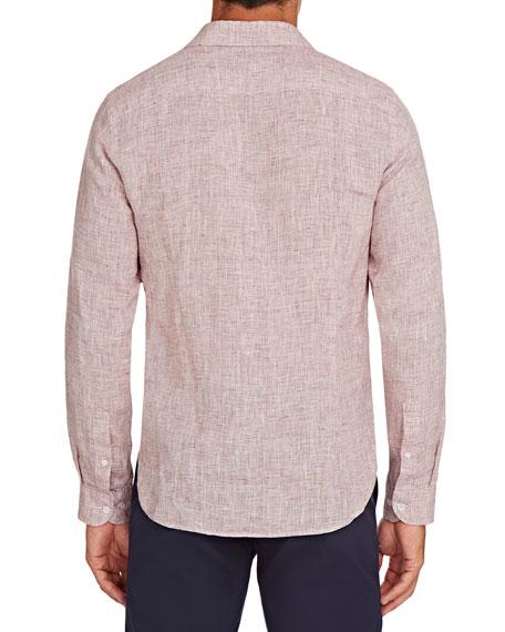 Orlebar Brown Men's Giles Lightweight Linen Sport Shirt