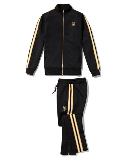Neiman Marcus - Produced by Staple Men's Jacquard Stripe Track Pants