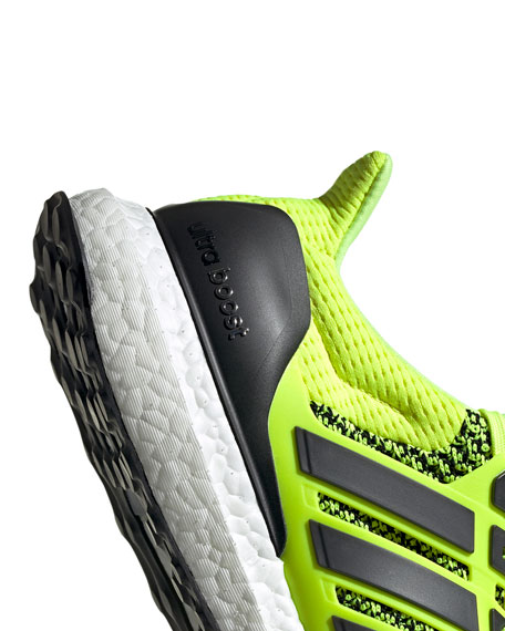 adidas x UB 1.0 Men's Solar Ultraboost 10 Stretch-Knit Running Sneakers