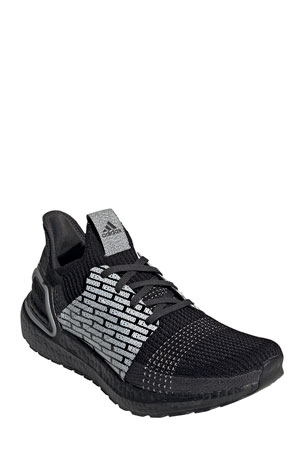 adidas x Neighborhood Men's Ultraboost 19 Stretch-Knit Sneakers