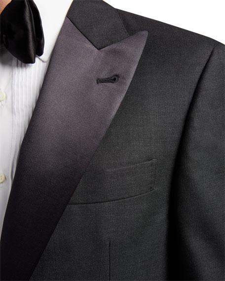 Brunello Cucinelli Men's Peak-Lapel Two-Piece Tuxedo Suit