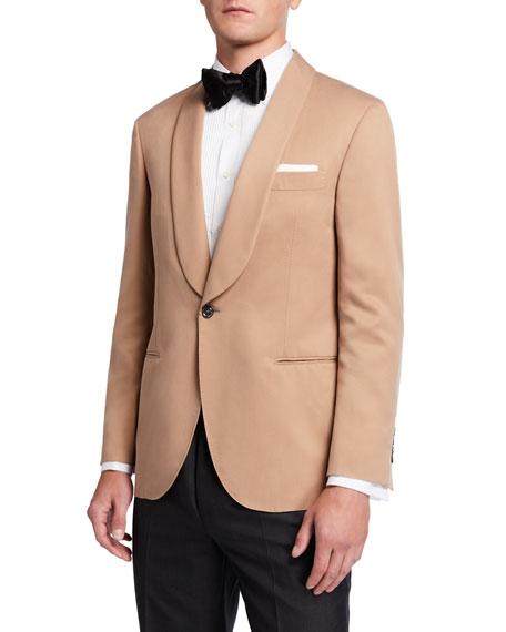 Brunello Cucinelli Men's Shawl-Lapel Silk Dinner Jacket