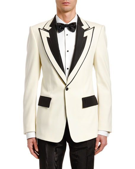 Dolce & Gabbana Men's Two-Tone Evening Jacket