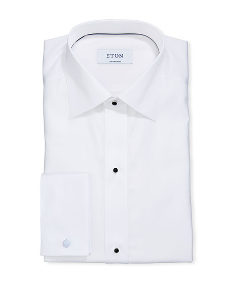 Image 1 of 2: Eton Men's Formal Dobby Contemporary Dress Shirt