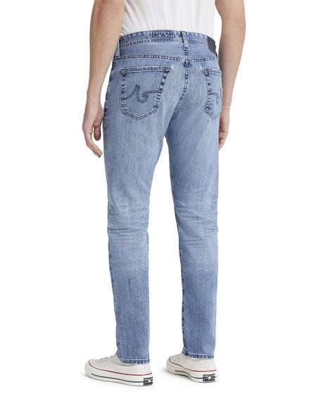 AG Adriano Goldschmied Men's Everett Slim Light-Wash Jeans