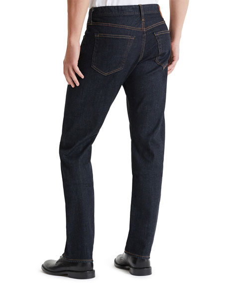 AG Adriano Goldschmied Men's Dylan Slim-Fit Faded Jeans
