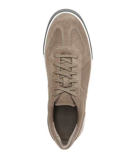 Vince Men's Rogue Perforated Suede Sneakers