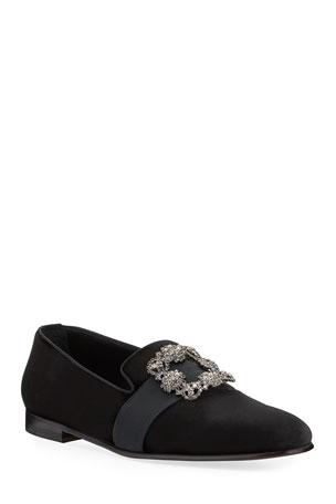 Manolo Blahnik Men's Shoes at Neiman Marcus