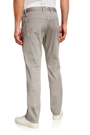 Rowm Men/'s Casual Tech Pocket Stretch Flat Front Twill Chino Pants New